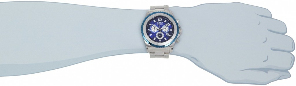 Invicta 1009 watch on a wrist