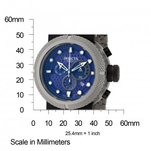 Invicta Men's Coalition Forces Blue Dial Chronograph Watch 0672