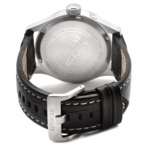 Invicta Men's Invicta II Black Dial Calf Leather Quartz Watch 0764 Details