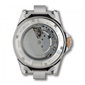 The Invicta Men's Pro Diver Two Tone Rose Gold Plated Automatic Watch 9423 movement