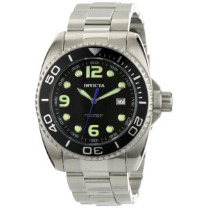 Invicta Men's Pro Diver White Dial Stainless Steel Quartz Watch 0480