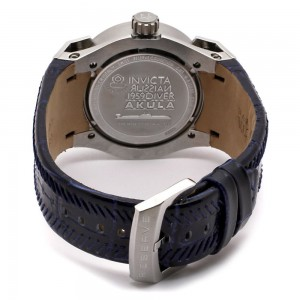 Back view of watch