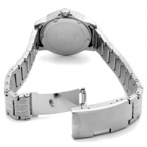 Invicta Women's II Silver Dial Stainless Steel back