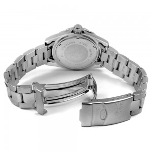 The Invicta Pro Diver White Stainless Steel Quartz Back View