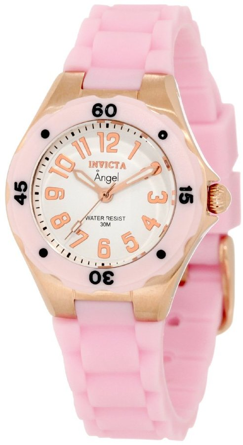 Women's 1622 Angel White Dial Light Pink Rubber watch