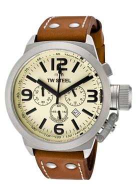 Photo of the TW Steel Canteen Stainless Steel Men's Chronograph Watch TW5