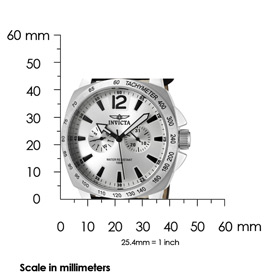 The Invicta II (0855) Shown with Scale